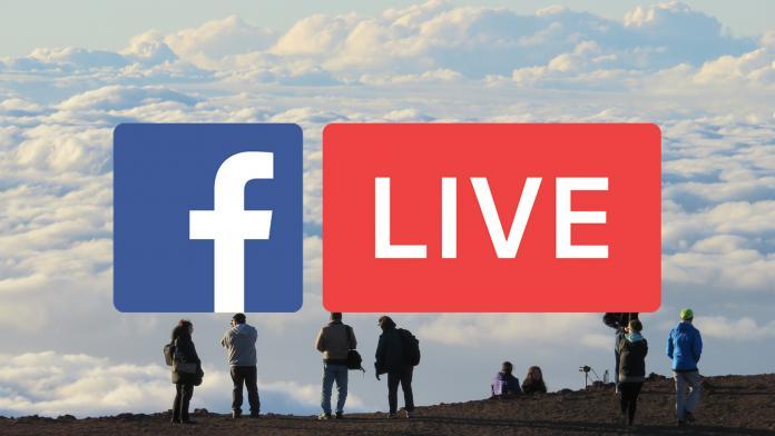 facebook и трансляция 360